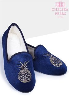 Chelsea Peers Pineapple Slipper Set