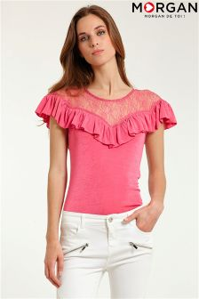 Morgan Frill Top