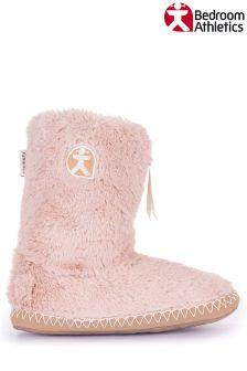 Bedroom Athletics Short Faux Fur Slipper Boots