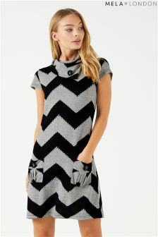 Mela London Printed Shift Dress