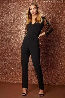 Mela London Lace Jumpsuit