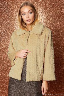 Mela London Faux Fur Jacket