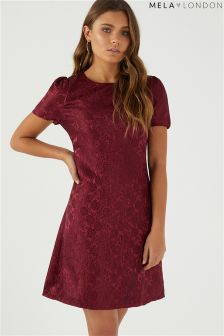 Mela London Rose Embossed Dress
