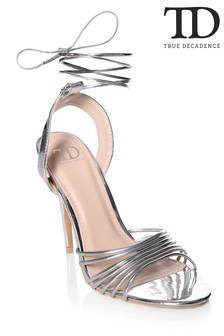 True Decadence Multi Strap Tie-up Sandal