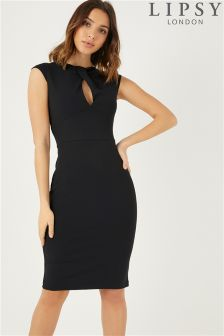 Lipsy Twist Front Bodycon Dress