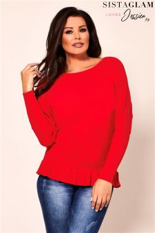Jessica Wright Batwing Long Sleeve Jumper