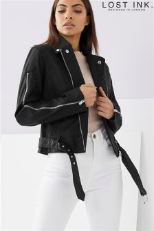 Lost Ink Biker Jacket