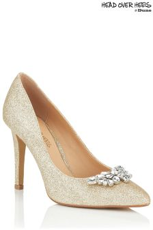 Head Over Heels Embellished Pointed Court Sandals