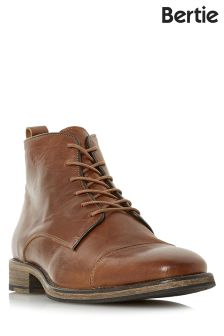 Bertie Toe Cap Lace Up Boots