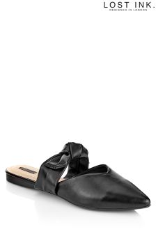 Lost Ink Bow Strap Flat