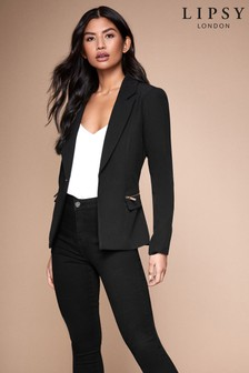 Lipsy Zip Pocket Tailored Blazer