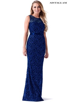 Sistaglam Maxi Lace Dress