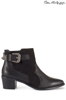 Miss Selfridge Western Buckle Boots
