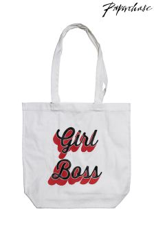 Paperchase Girl Boss Shopper Bag