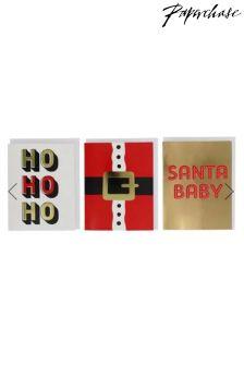 Paperchase Santa Baby Christmas Cards Box Of 12