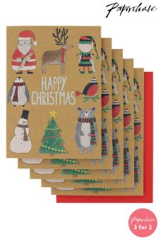 Paperchase Character Christmas Cards