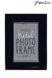 Paperchase Emilia Brass Navy photo Frame 4x6