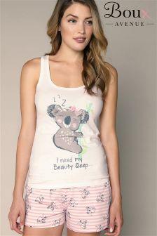 Boux Avenue Koala Short Pyjamas Set