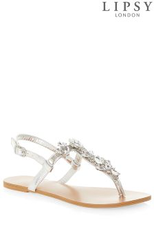 Lipsy Jewel Sandals