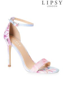 Lipsy Barely There Tori Satin Sandals