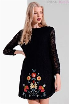 Urban Bliss Embroidered Lace Dress