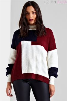 Urban Bliss Patchwork Jumper