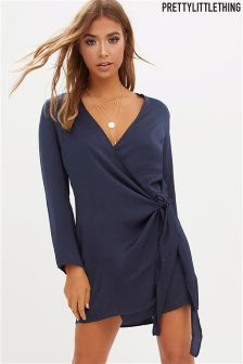 PrettyLittleThing Wrap Dress