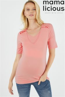 Mamalicious Maternity Willa Nell Jersey Top