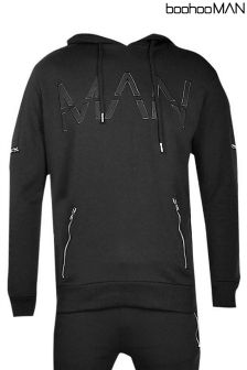 Boohoo Man Skinny Fit Tracksuit Jacket