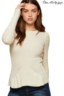Miss Selfridge Long Sleeve Kniitted Top