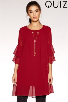 Quiz Necklace Shift Dress