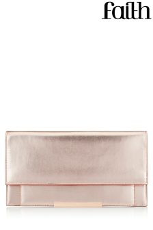 Faith Patent Clutch Bag