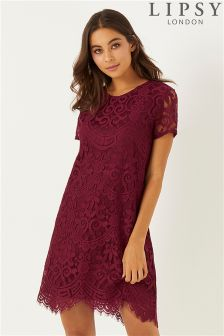 Lipsy Lace Shift Dress