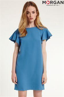 Morgan Frill T-Shirt Dress