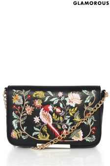 Glamorous Embroidered Crossbody Bag