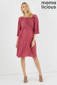 Mamalicious Maternity 3/4 Woven Dress