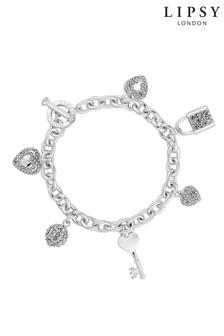Lipsy Multi Charm Gift Bracelet