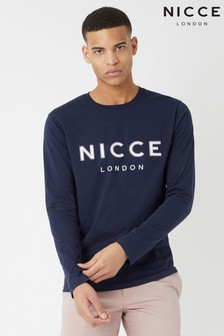 NICCE Raised Logo Long Sleeved T-Shirt