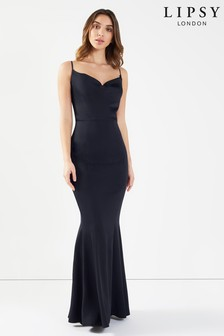 Lipsy Petite Cowl Neck Maxi Dress