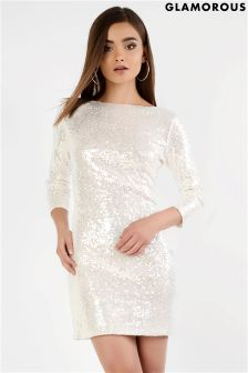 Glamorous Sequin Bodycon Dress