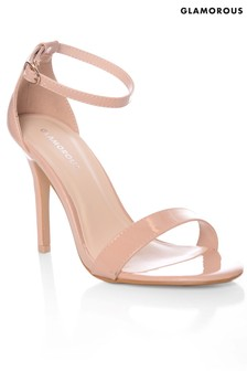 Glamorous Barely There Sandals