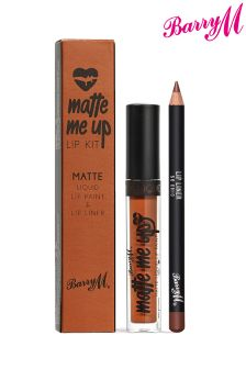 Barry M Matte Me Up Lip Kit- So Chic