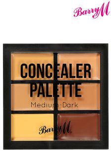 Barry M Concealer Palette Medium - Dark
