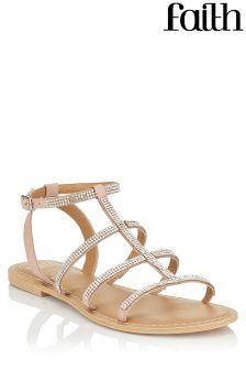 Faith New Jordan Flat Sandals