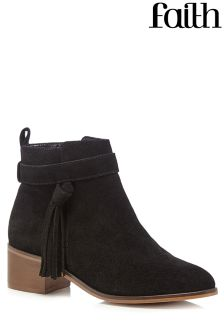 Faith Bolt Ankle Boots