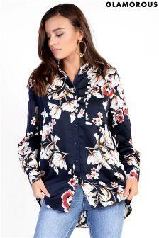 Glamorous Oversized Floral Shirt