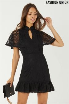 Fashion Union Lace Dress