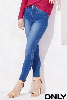 Only High Waisted Skinny Jeans