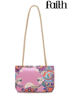 Faith Floral Cross Body Bag