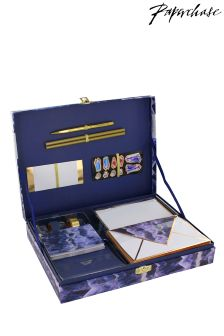 Paperchase Indigo Nights Correspondence Writing Set